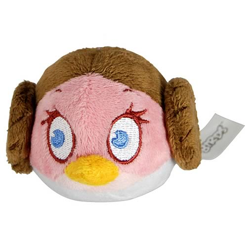 "Commonwealth Star Wars Angry Birds Leia 8"" Plush"
